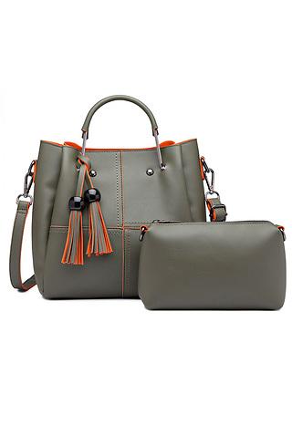 Стилна дамска чанта 2 в 1