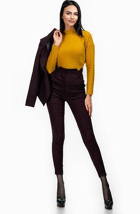 Комплект от сако и панталон с висока талия