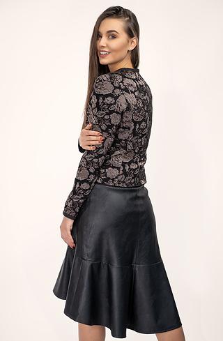 Стилен комплект от сако и пола