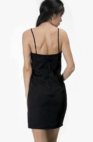 Асиметрична рокля с тънки презрамки