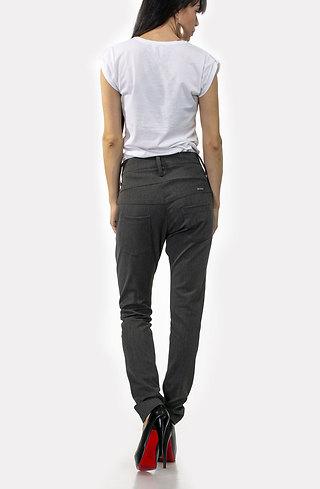 Панталон тип потур в сиво
