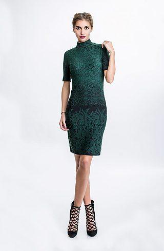 Къса рокля от плетиво I