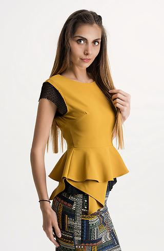 Блуза без ръкави
