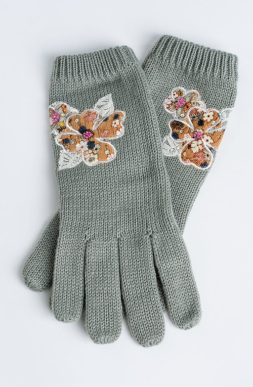 Ръкавици с декорация