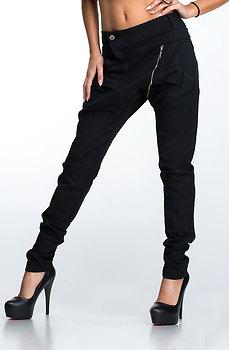 Панталон тип потур с диагонален цип