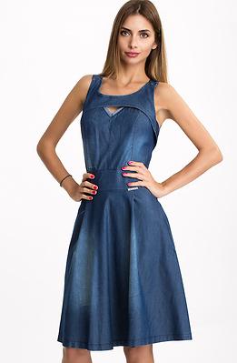 Къса дънкова рокля II