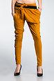 Панталон тип потур в цвят горчица