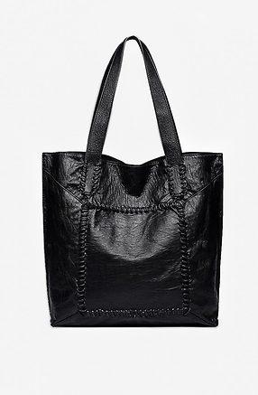 Дамска чанта 2 в 1 в черно