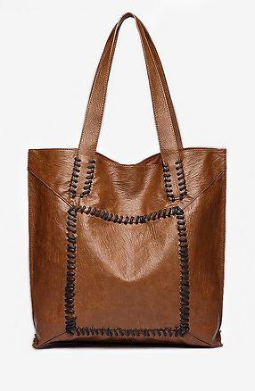 Дамска чанта 2 в 1 в кафяво