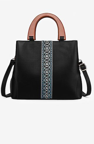 Дамска чанта с етно мотив
