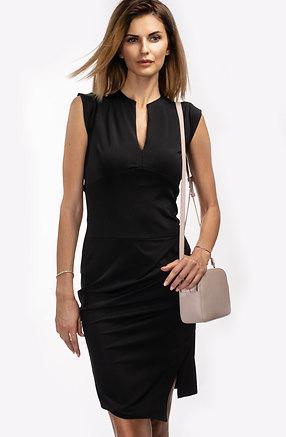 Стилна рокля в черно