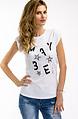 Тениска с акцент звезди