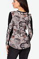 Фигурална блуза от фино плетиво