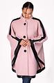 Дамско палто тип пелерина