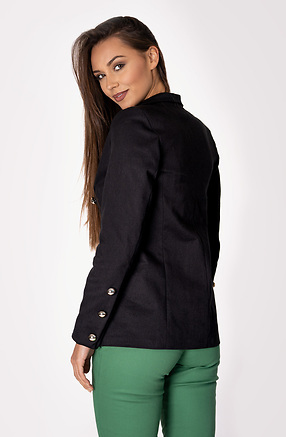 Класическо сако с двуредно закопчаване
